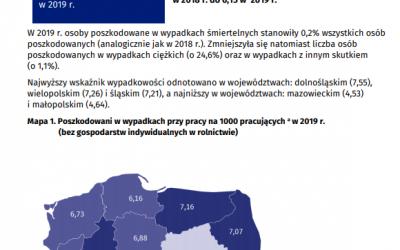 Statystyki wypadków 2019